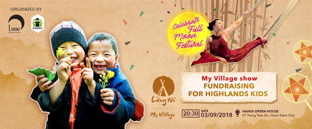 "FUNDRAISING EVENT FOR HIGHLANDS KIDS ""CELEBRATE FULL MOON FESTIVAL"