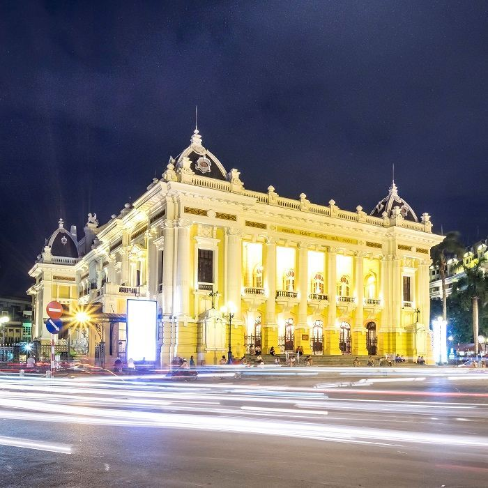106-YEAR-OLD HANOI OPERA HOUSE