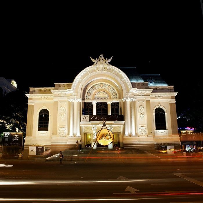 121-YEAR-OLD SAIGON OPERA HOUSE