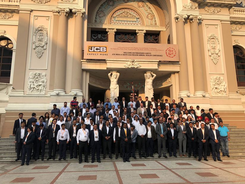 TEH DAR WELCOMES JCB INDIA & SOUTH ASIA ANNUAL DEALER CONFERENCE