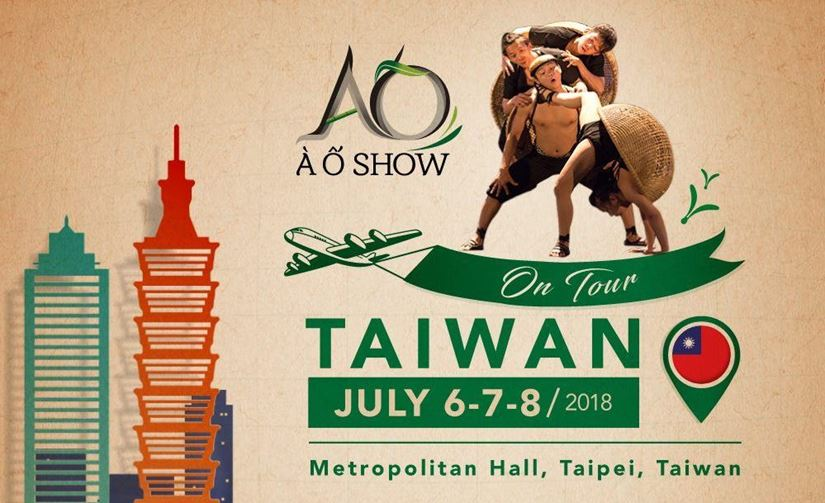 A O SHOW TOUR IN TAIWAN