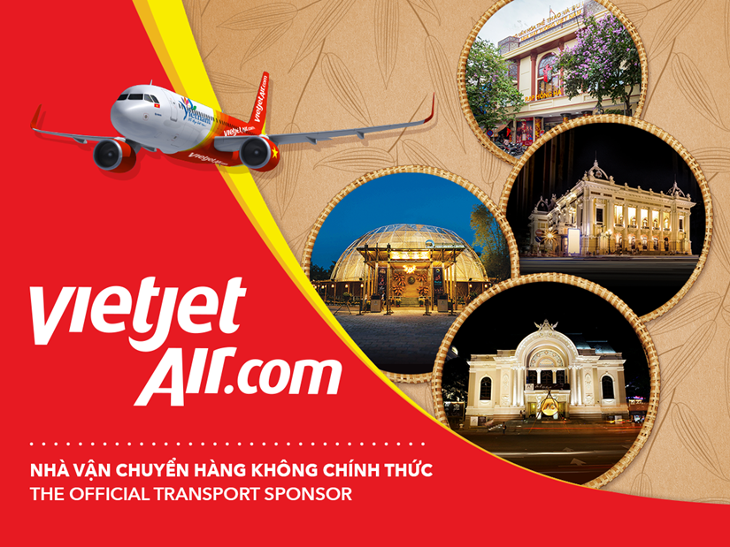 VIETJET AIR - THE OFFICIAL TRANSPORT SPONSOR FOR LUNE PRODUCTION IN 2018