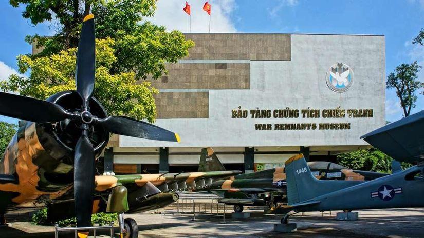 Khám phá Bảo tàng Chứng tích Chiến tranh