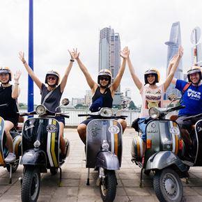 Vespa Adventures in Saigon