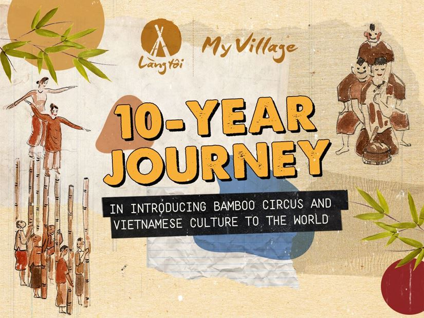 LANG TOI – MY VILLAGE, THE 10-YEAR INSPIRING JOURNEY – VIETNAM'S FIRST BAMBOO CIRCUS