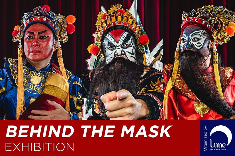 """Behind The Mask"" exhibition offers a glimpse at the art of Tuong"