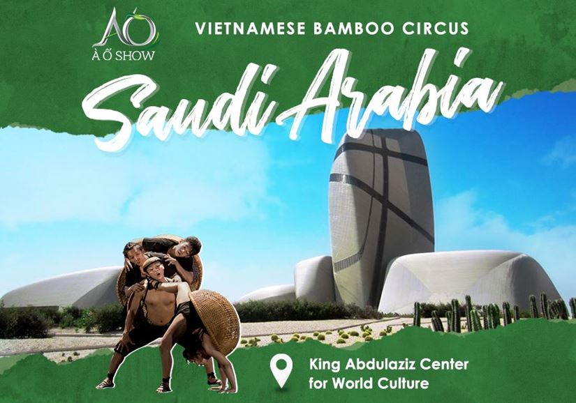A O SHOW TOUR IN SAUDI ARABIA